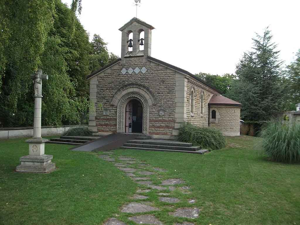 Chapelle Foujita by Gérald Garitan / Wikimedia.org