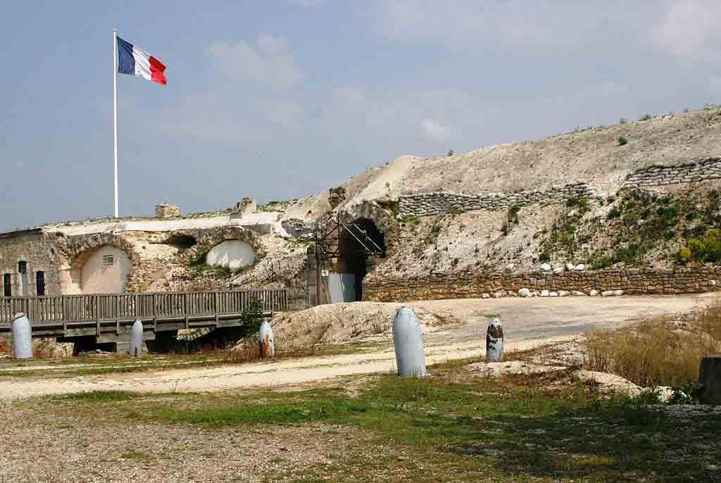 Fort de la Pompelle by Les Meloures, Wikimedia.org