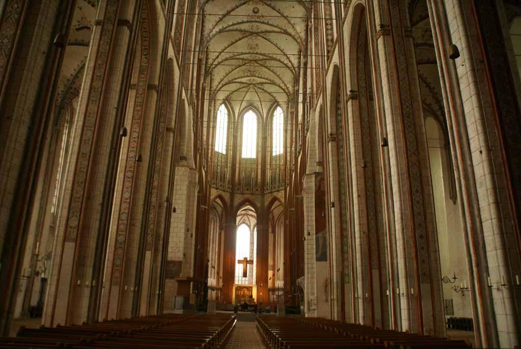 Marienkirche Lubeck by David Baron, Flickr.com