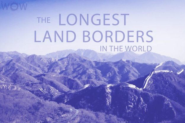 The 12 Longest Land Borders In The World
