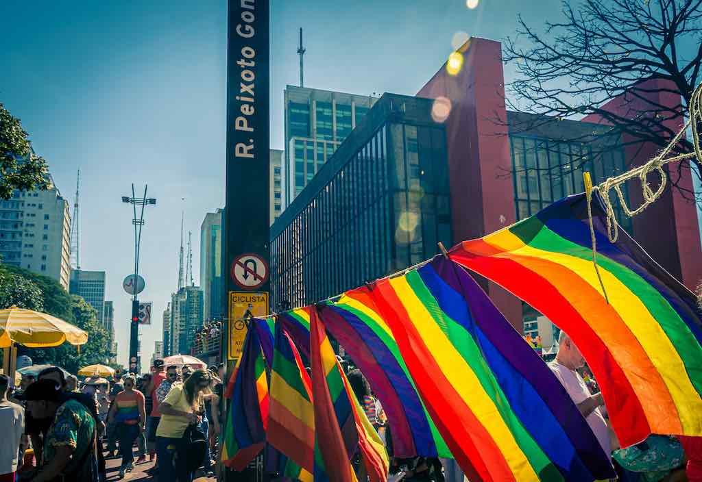 Sao Paulo, Brazil 2019 - LGBTQI Pride parade of Sao Paulo Brasil 2019 - by Luciano Marques : Shutterstock.com