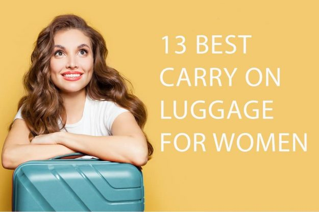 13 Best Carry On Luggage For Women - shutterstock_1571443939