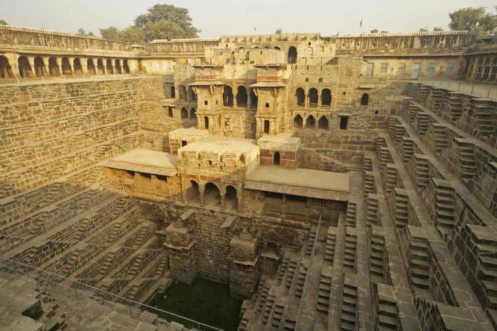 Abhaneri Stepwell, Jaipur -by Dixie Lawrence/Flickr.com