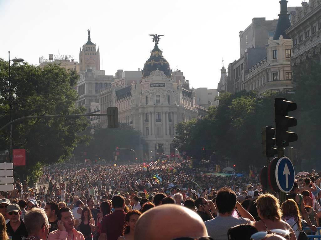 EuroPride Parade, Madrid - by Oscar San Jose / Wikipedia.org