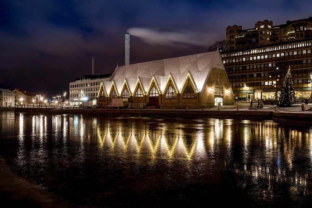 Feskekôrka, Gothenburg - by Pasi Mämmelä / Pixabay.com