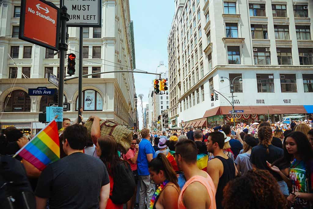 Gay Pride Parade, New York City - by Jeffrey Zeldman / Flickr.com