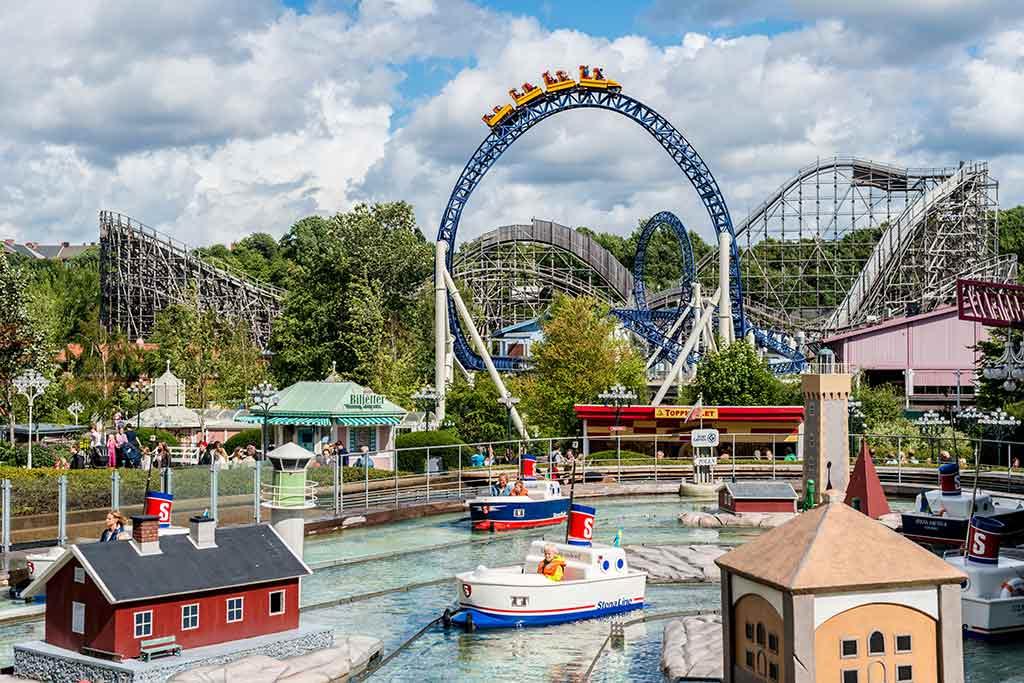 Liseberg Amusement Park, Gothenburg - by Trygve Finkelsen