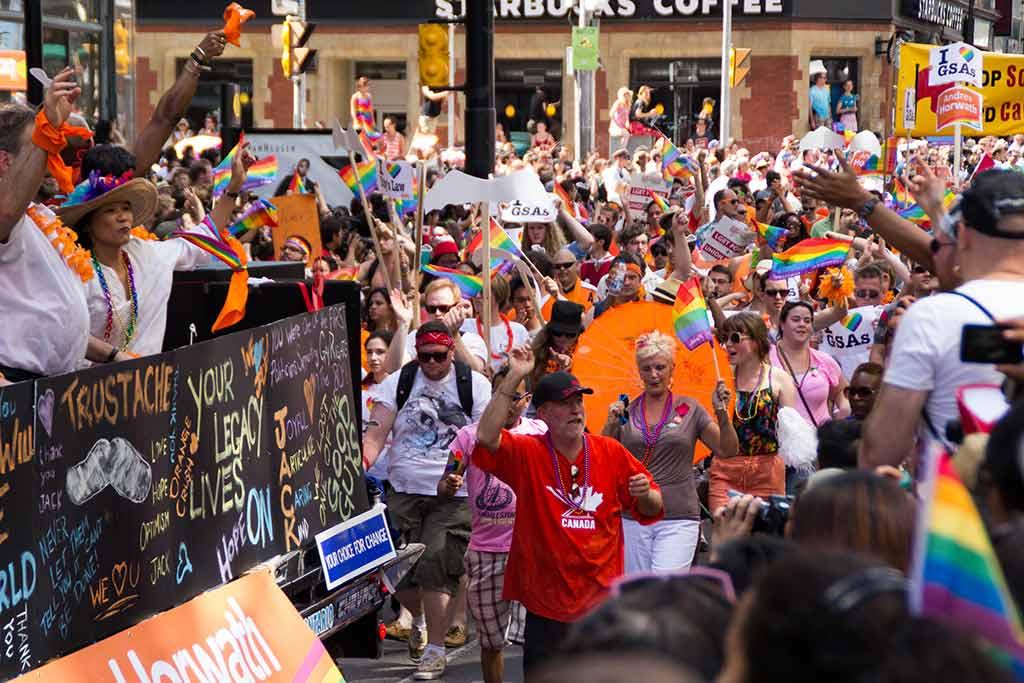 Pride Toronto, Canada - by Stephen Weppler / Flickr.com