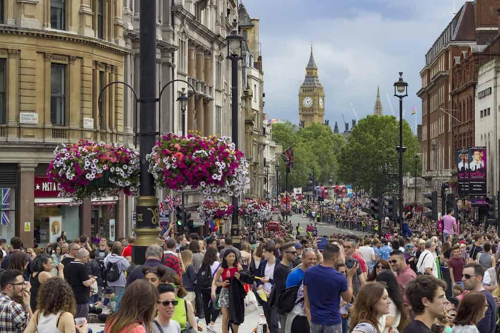 Pride in London, England