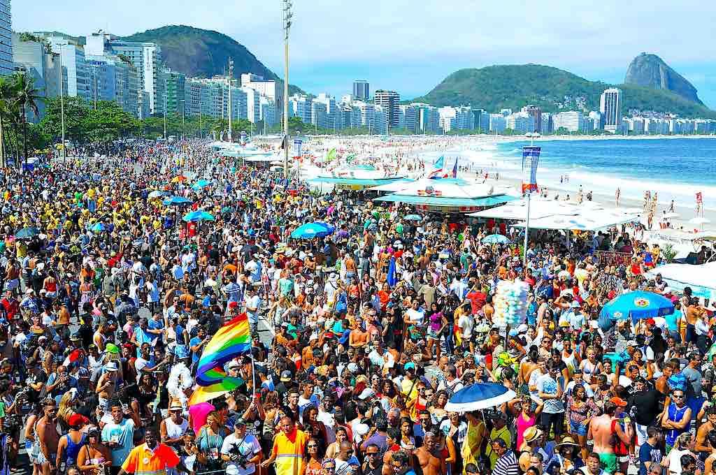 Rio de Janeiro, Brazil - Gay Parade in Copacabana - by A.PAES : Shutterstock.com