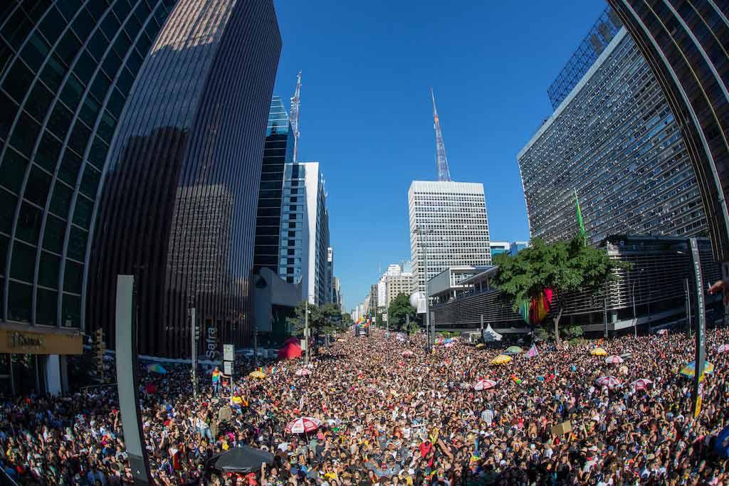 São Paulo Gay Pride Parade, Brazil