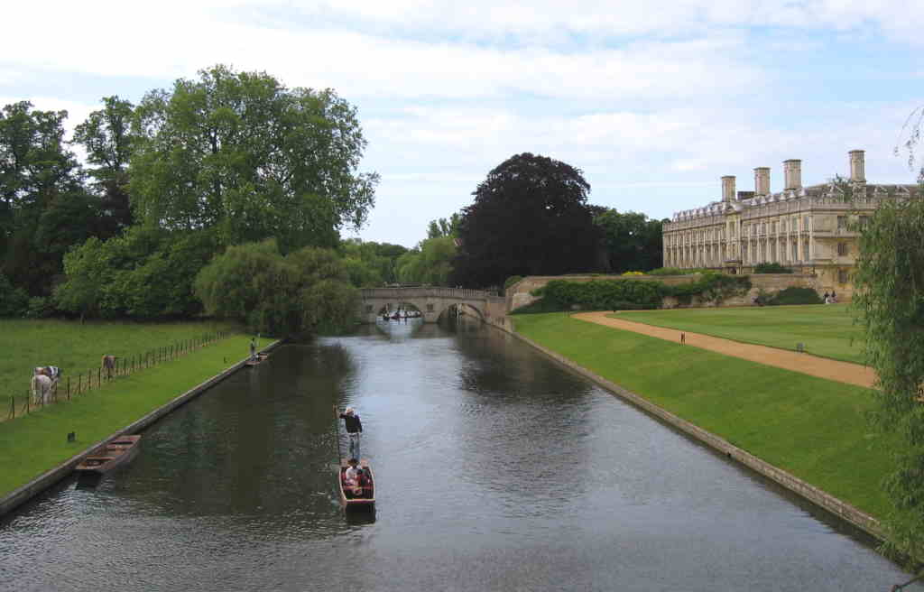 The Backs, Cambridge - by Steff, Commons.wikimedia.org