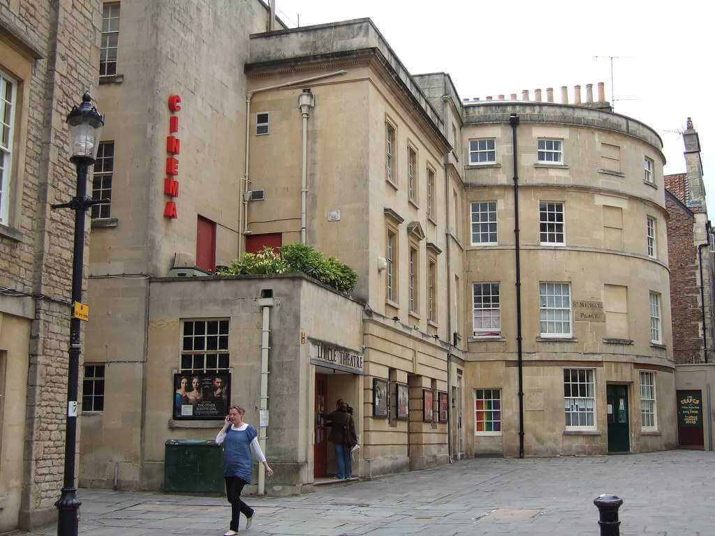The Little Theater Cinema, Bath, England - by Ben Sutherland / flickr.com