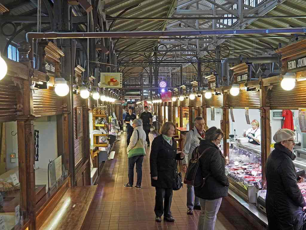 Turku Market Hall, Turku, Finland - by Hajothu / wikimediacommons