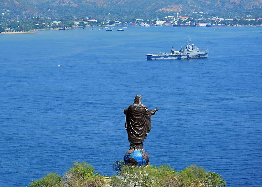 Cristo Rei Statue in Dili, Timor Leste - by Naval Surface Warriors / Flickr.com