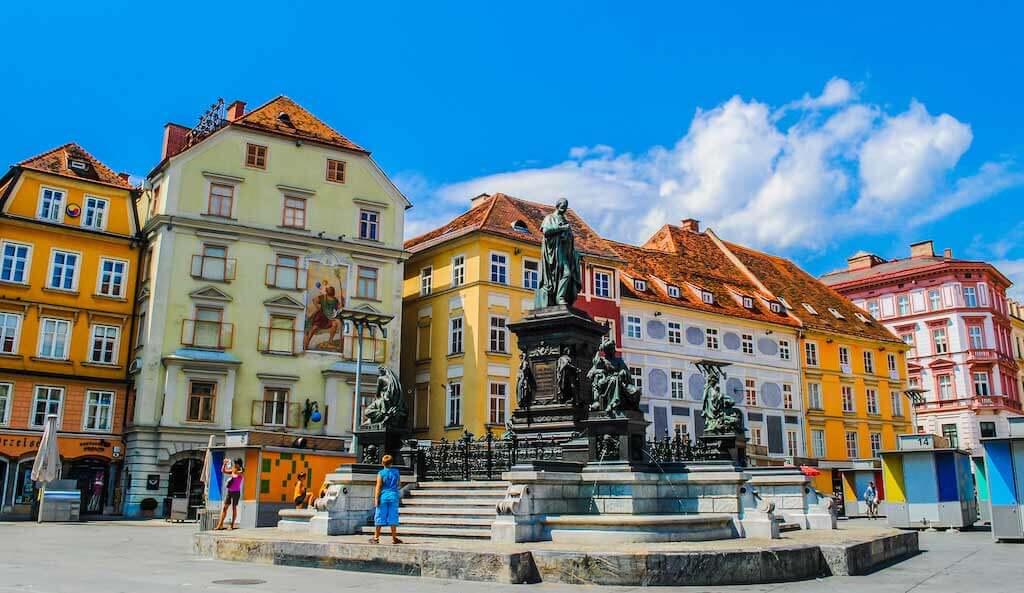 Hauptplatz, Graz - by Littleaom / Shutterstock.com