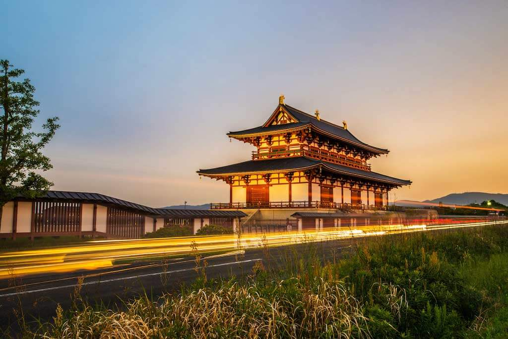 Heijo Palace, Nara - by thananchai / Shutterstock.com