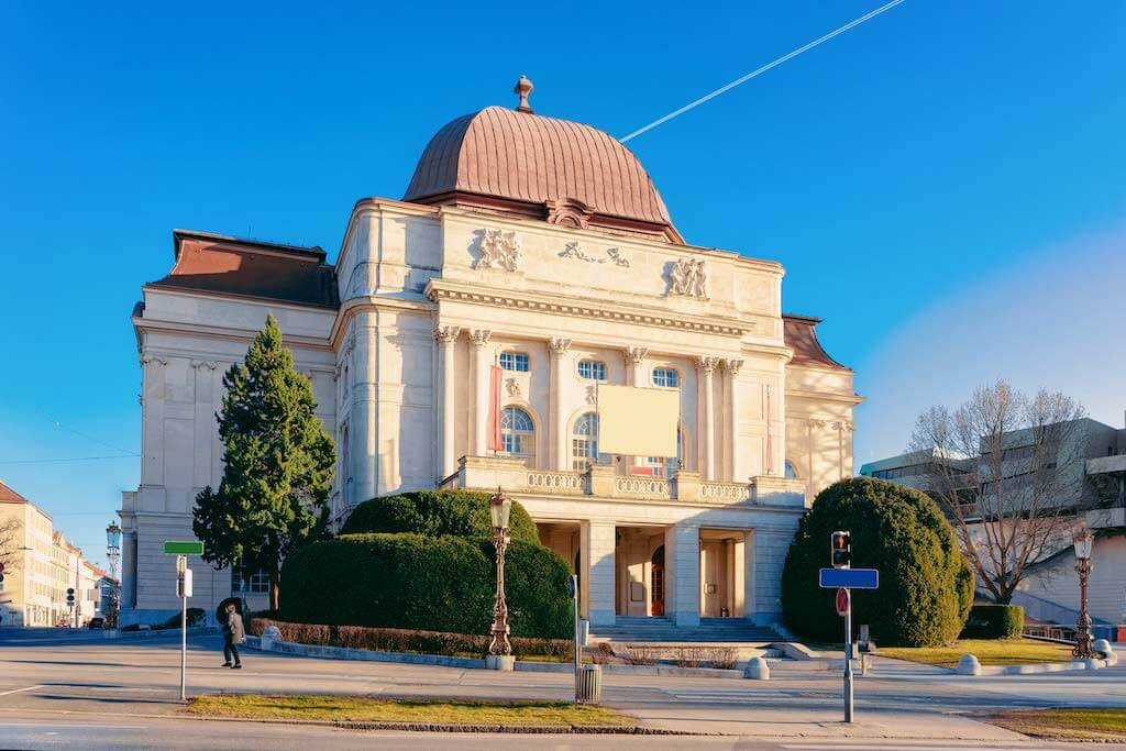 Opera House, Graz - By Roman Babakin / Shutterstock.com