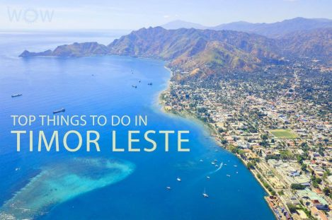 Top 10 Things To Do In Timor Leste