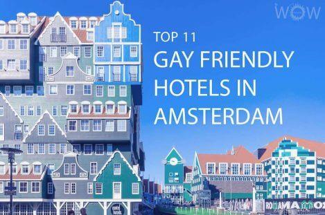 Top 11 Gay-Friendly Hotels In Amsterdam