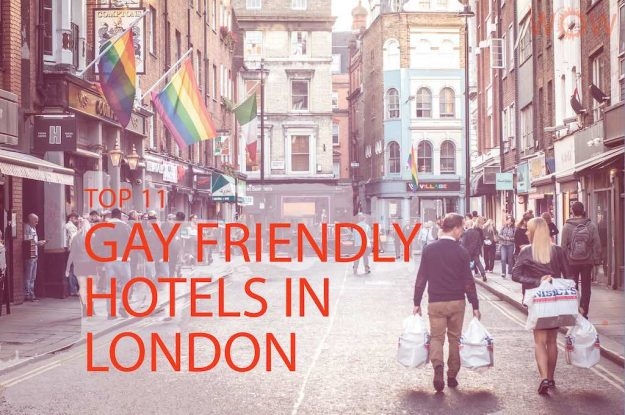 Top 11 Gay Friendly Hotels In London - By Willy Barton/shutterstock.com