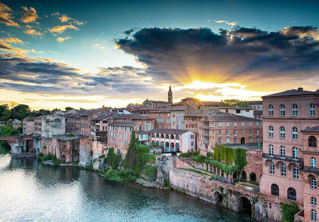 Albi Old Town - by By Botond Horvath_shutterstock.com