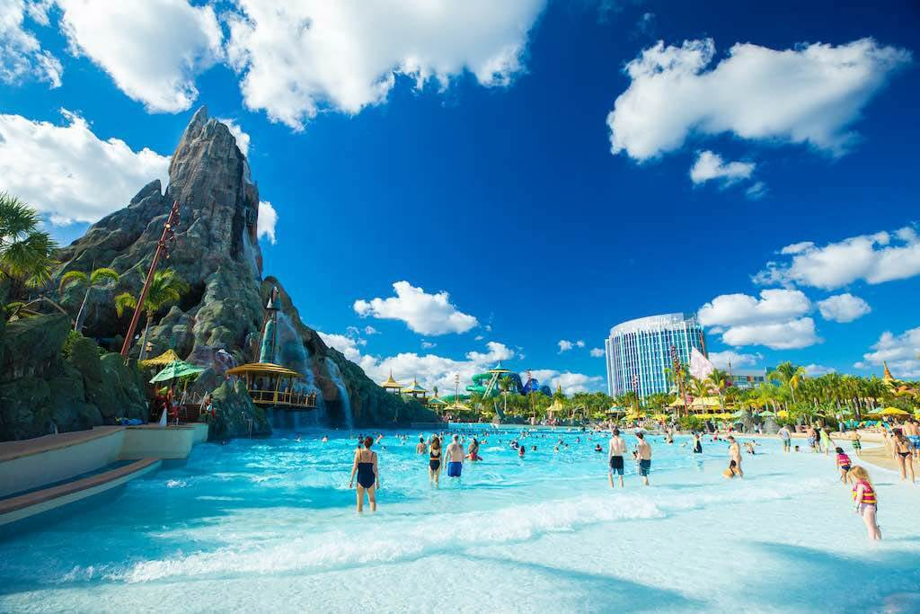 Aquapark Volcano Bay at Universal Studios, Orlando is an attraction in USA for tourists.com