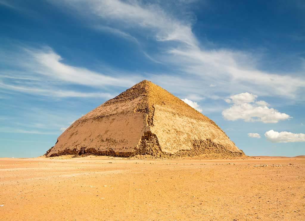 Bent Pyramid, Egypt / Shutterstock.com