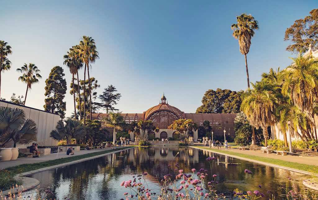 Botanical Building in Balboa Park is a top tourist destination in the USA