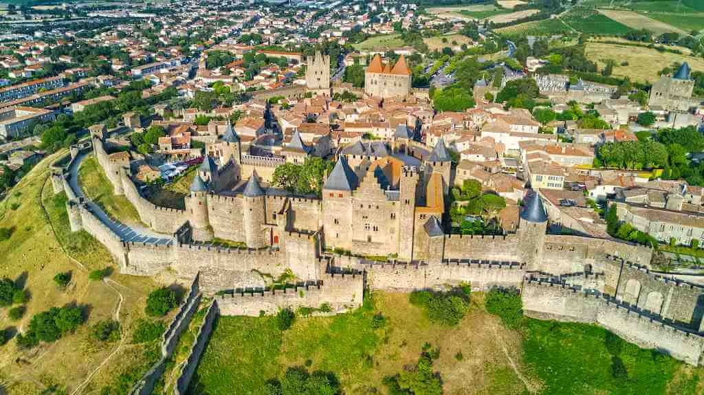 Carcassonne Medieval City, France - By JaySi/Shutterstock.com