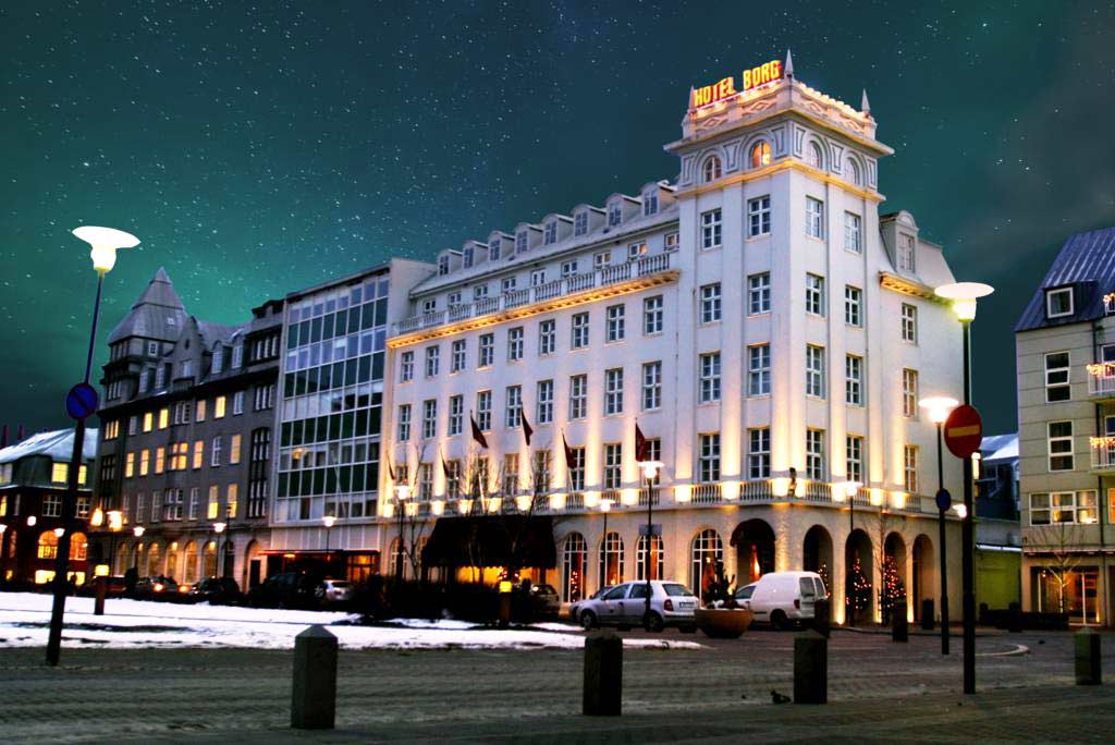 Hotel Borg, Reykjavik - by - Hotel Borg / Booking.com