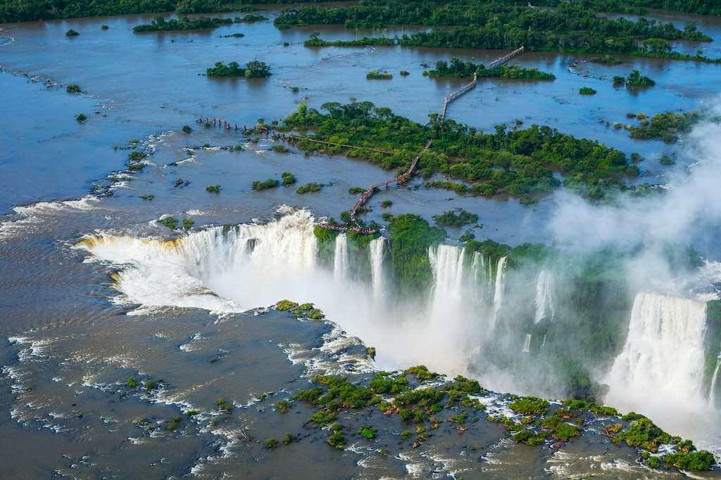 Iguazu, Argentina-Brazil Border by RM Nunes/Shutterstock