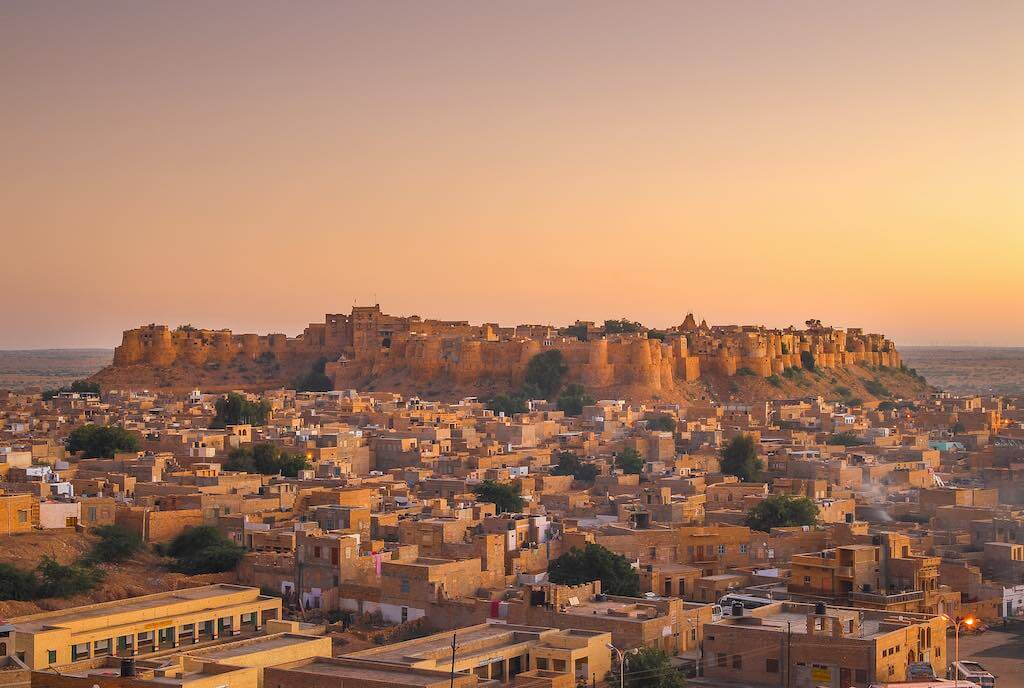 Jaisalmer Fort In Sunset Light - M By muzato / shutterstock.com