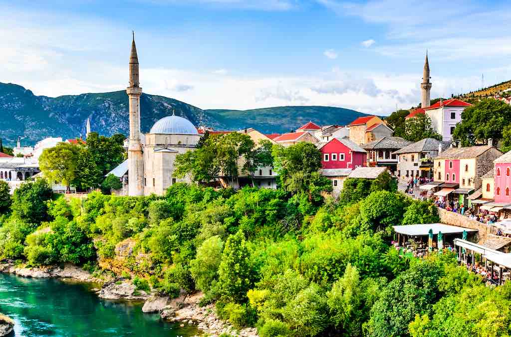 Koski Mehmed Pasha Mosque, Mostar - by cge2010/Shutterstock