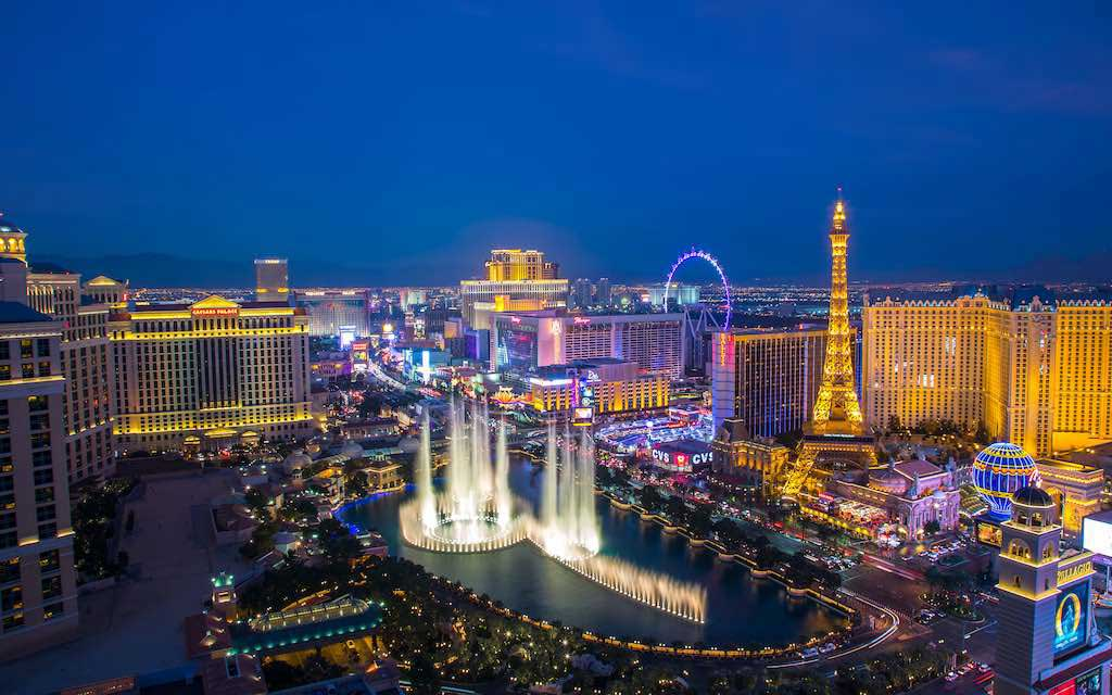 Las Vegas Strip is a top attraction in USA for tourists