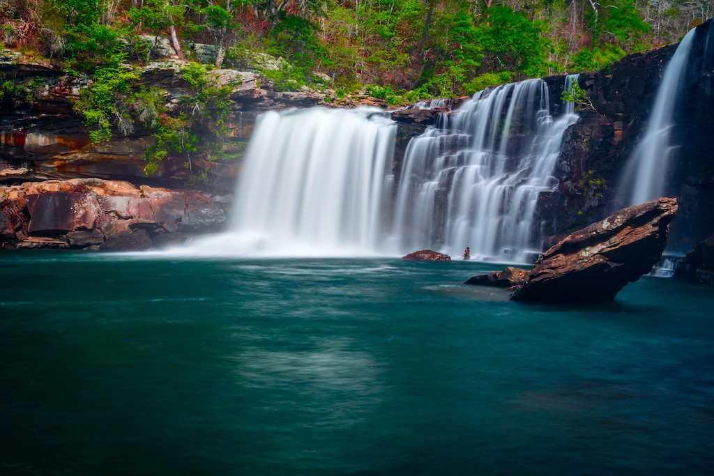 Little River Canyon Falls, Alabama, USA -by Shutterstock.com