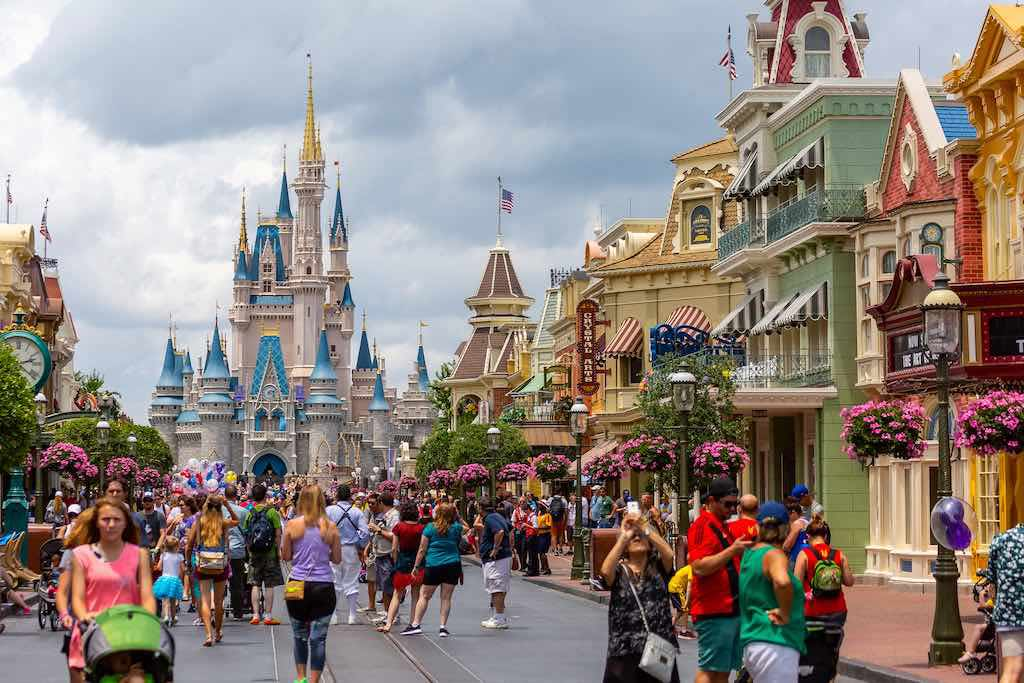 Magic Kingdom, Disney World, Orlando, one of the top attractions in the USA for tourists