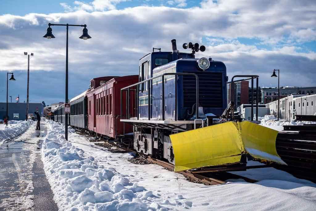 Maine Narrow Gauge Railroad Museum, Portland Maine,USA -by Micha Weber/ Shutterstock.com