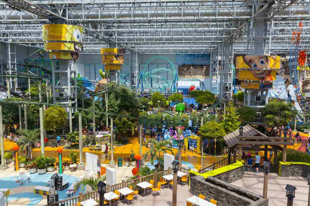 Mall Of America, Bloomington, a top tourist destination in the USA