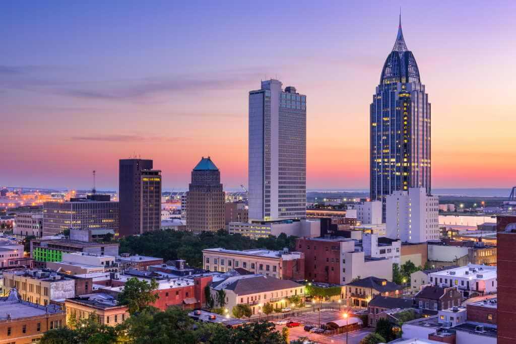 Mobile, Alabama, USA -by Shutterstock.com