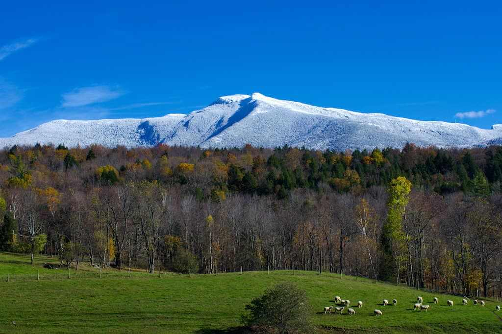 Mount Mansfield, Vermont -by Shutterstock.com