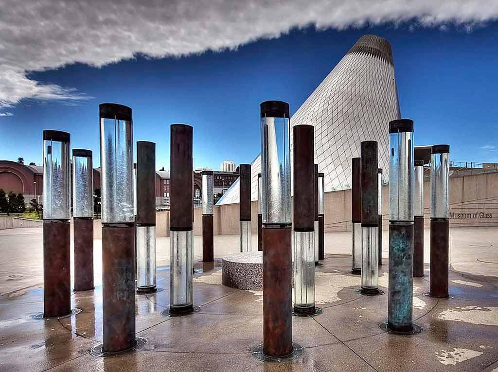 Museum of Glass, Tacoma, Washington State - by Michael & Sherry Martin