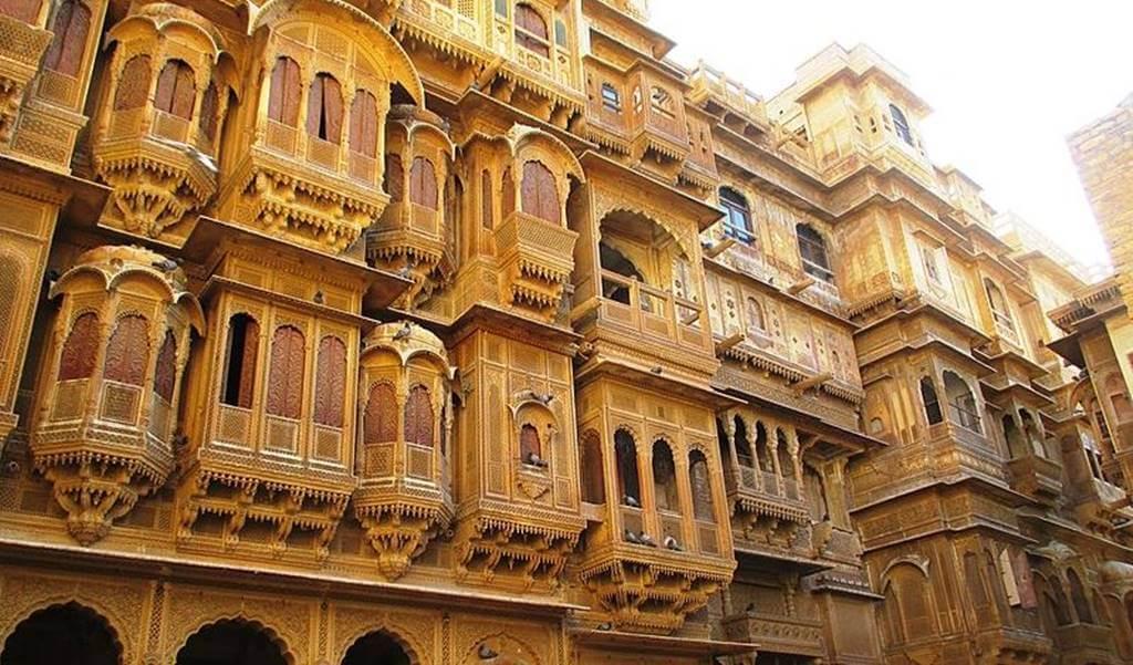 Patwa Haveli, Jaisalmer by Sreesarkar Wikipedia
