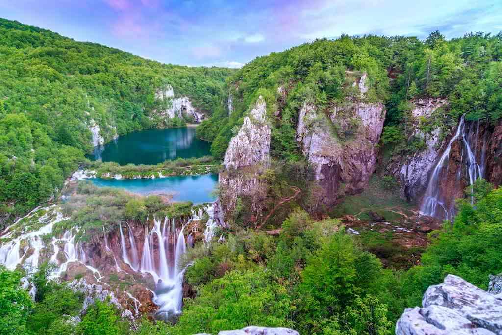 Plitvice Waterfalls, Croatia by Fesus Robert/Shutterstock