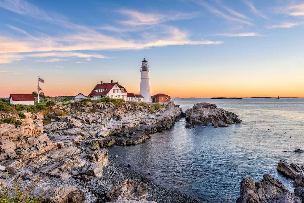 Portland Head Light, Portland, Maine, USA - By Sean Pavone/shutterstock