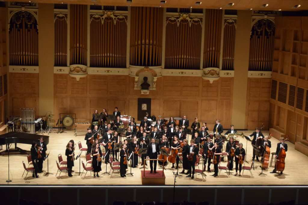 Portland Youth Symphony Orchestra, Portland Maine USA -by University of Southern Maine Music School/Flickr.com