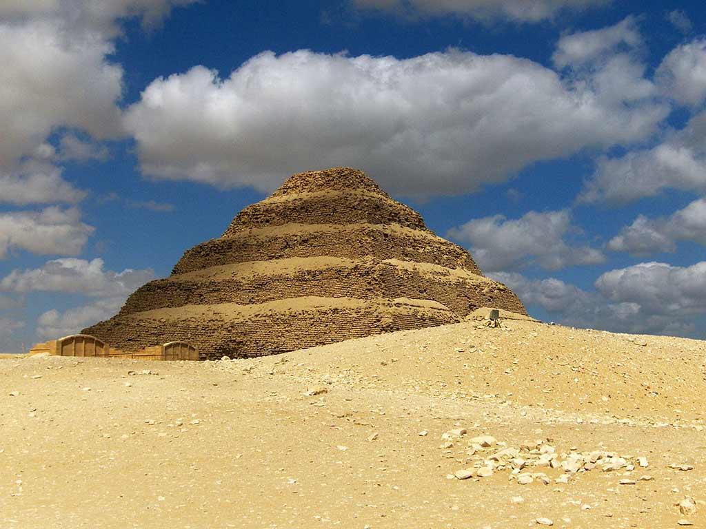 Pyramid of Djoser, Egypt - by Gary Ku / Wikimedia Commons
