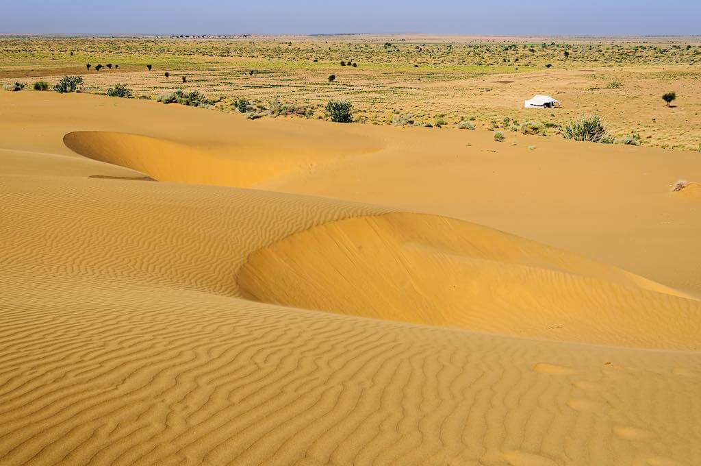 SAM dunes, Desert National Park of Thar Desert of India - By Srijan Roy Choudhury/shutterstock.com