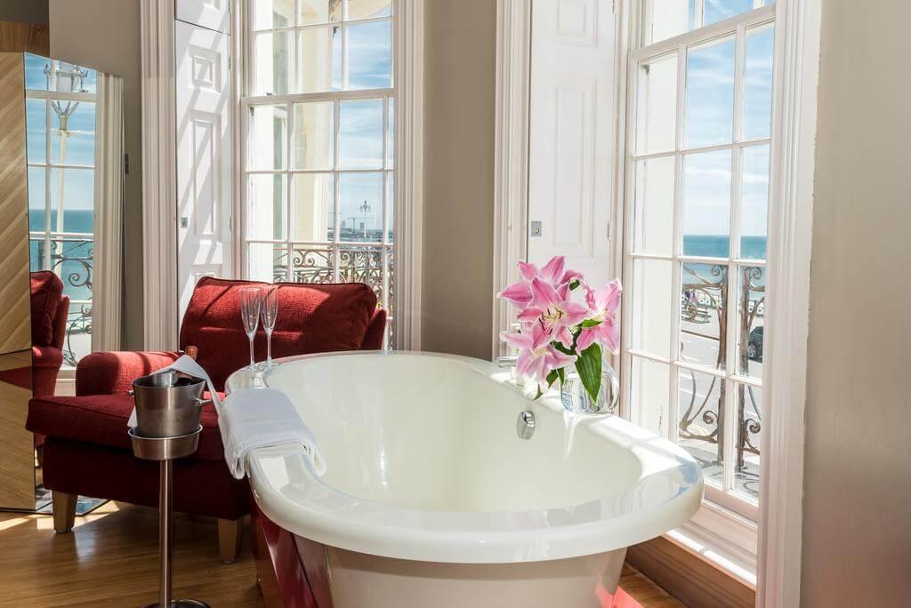 Sea-facing room at Drakes, Brighton - by Drakes of Brighton - Booking.com