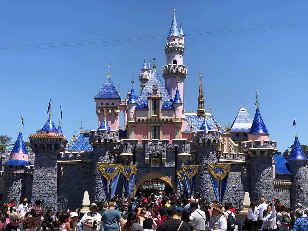 Disneyland Park, Anaheim, among the top tourist destinations in the USA